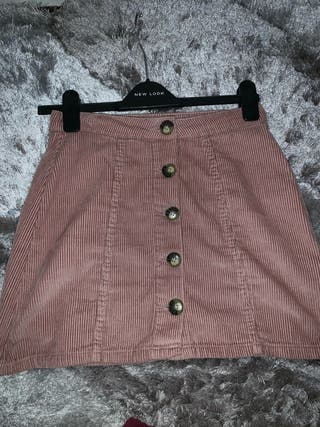 Dusty Pink A-Line skirt