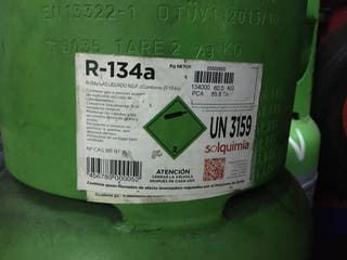 BOTELLAS VACÍAS GAS R-134 a de 60 kg
