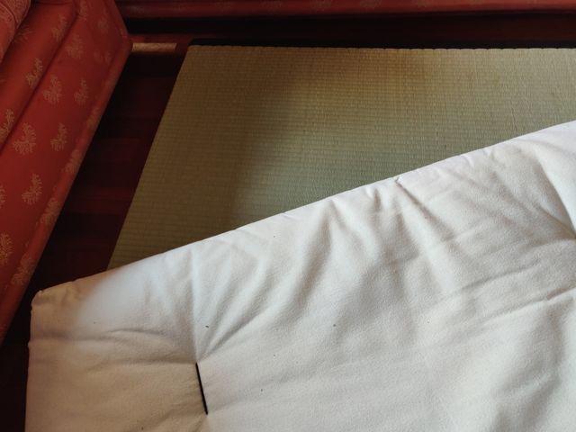 Futón japonés de algodón 90x200x13cm + tatami