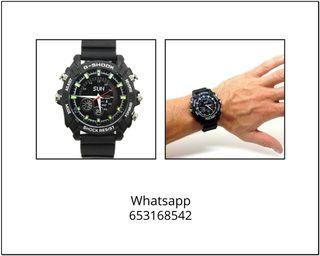 Reloj espia deportivo 8GB G-Shook