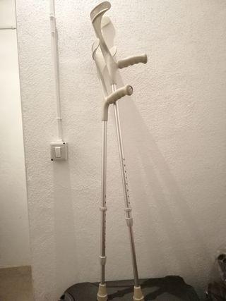 Muletas ortopédicas