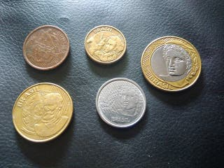 Monedas Brasil