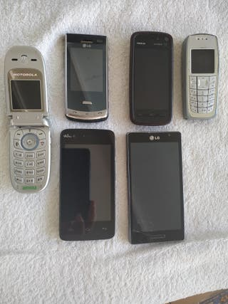 lote teléfonos