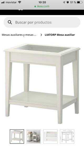 Mesa auxiliar modelo LIATORP