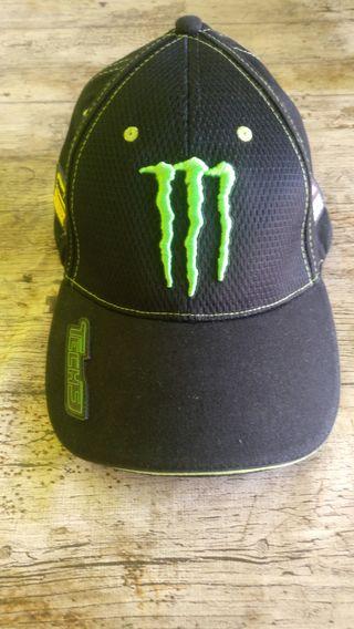 Gorra Monster Yamaha Team Tech3