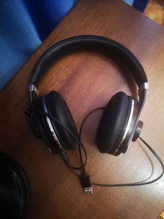 Cascos auriculares usb