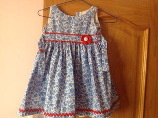 Vestido para niña de 4 años