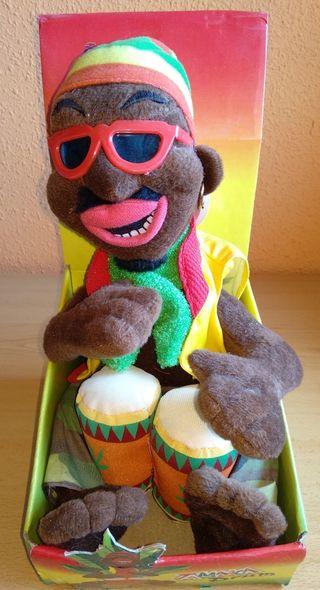 Muñeco Jamaica rastafari