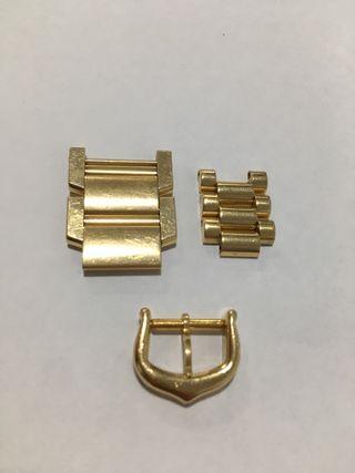 Eslabones Oro 18kt Cartier y Rolex
