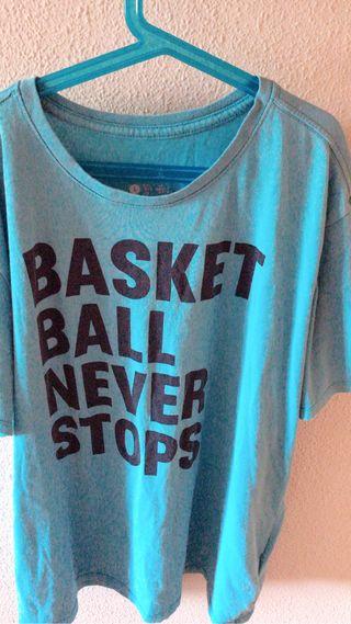 "Camiseta Nike ""Basketball never stops"""