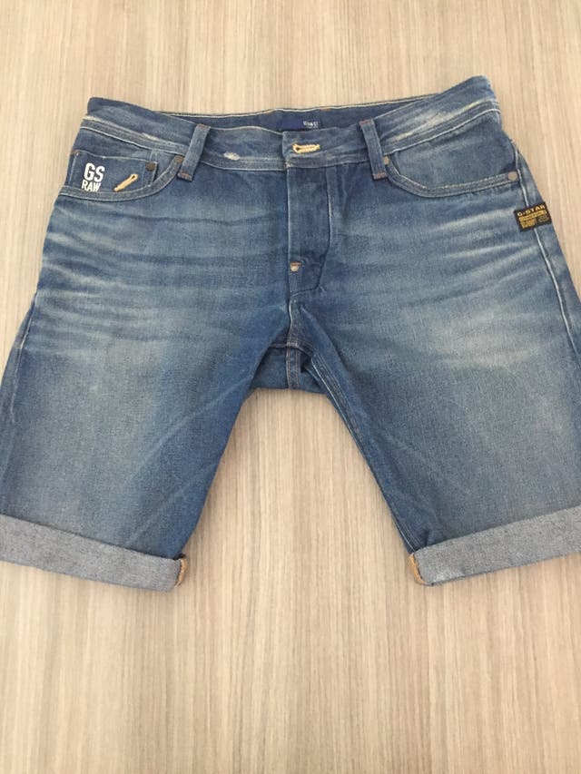 Pantalones cortos jeans G-STAR