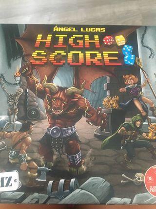 High score juego d mesa