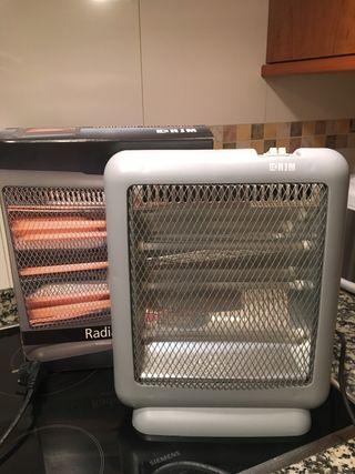 Radiador eléctrico de infrarrojos