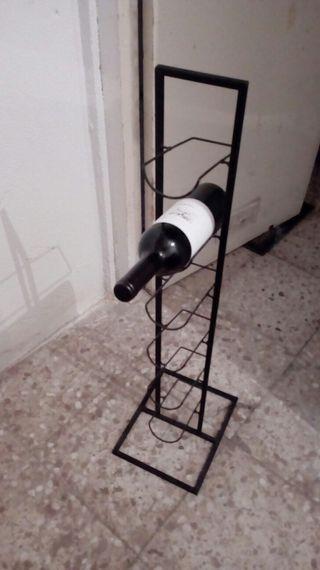 botellero de hierro