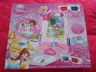 Proyector de Princesas Disney 3D