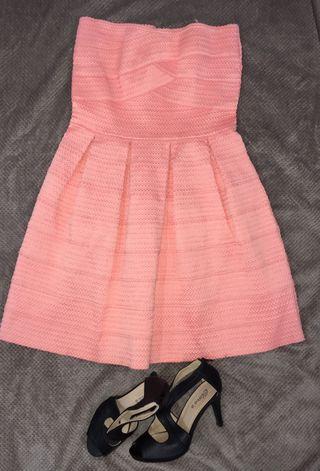 Vestido rosa palo pinkee