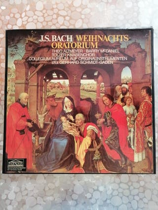 J.S. Bach 3 discos de vinilo