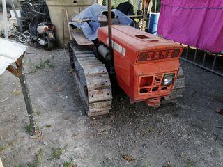 tractor de cadenas