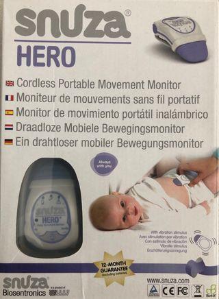Snuza Hero - Monitor portatil respiracion bebe