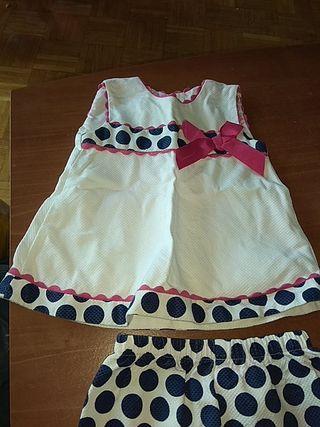 vestidos 12 meses