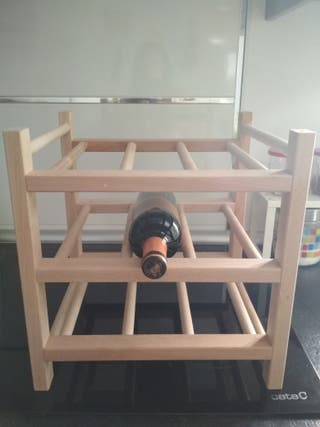 Botellero para vino nuevo