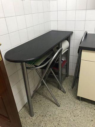 Mesa barra de cocina