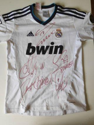Camiseta Firmada Real Madrid