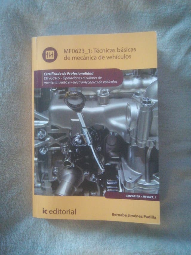 libro profesional de mecanica