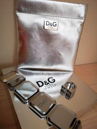 Conjunto pulsera y anillo Dolce Gabbana