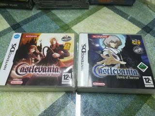 Castlevania DS Nintendo Pal España