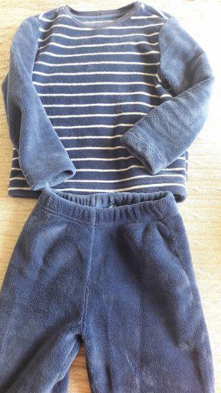 Pijama de invierno niño talla 4-5