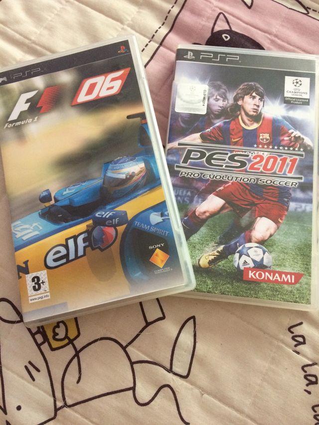 2 juegos para psp