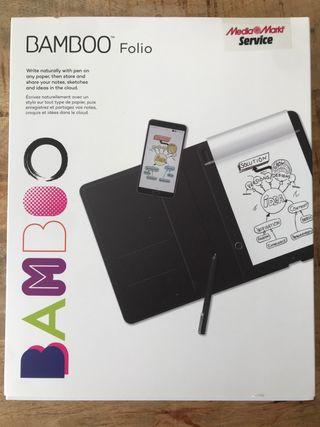 Tableta gráfica - Wacom BAMBOO FOLIO CDS