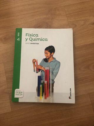 LIBRO DE FÍSICA Y QUÍMICA 4 ESO SANTILLANA