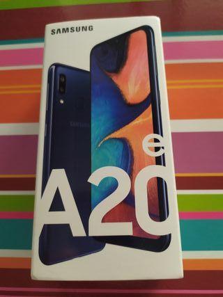 Samsung a20e color azul