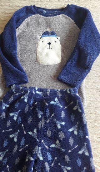 Pijama de invierno niño talla 5-6 años