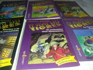 """Vendo lote de 6 libros de """"la penya dels tigres"""" y"""