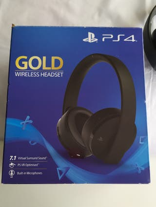 auriculares gaming Gold ps4