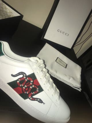 Gucci snake sneakers
