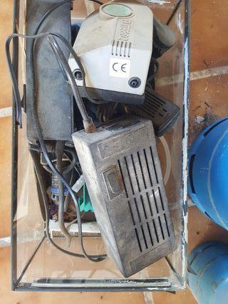Accesorios para acuario Compresor de aire etc.