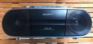 Radio cassette CD Sony