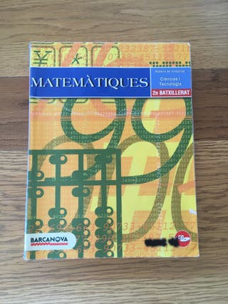 Matemàtiques 2 Batxillerat