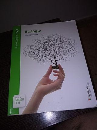 libro biología 2ndo Bachillerato