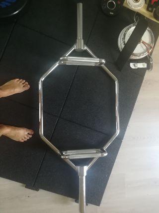 Barra Hexagonal Peso muerto