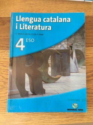 Llengua catalana y literatura 4 ESO