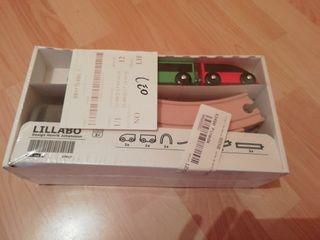 Juego básico tren 20 piezas Ikea