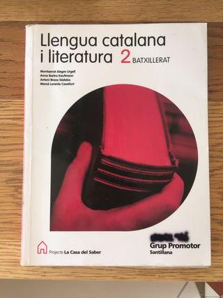 Llengua catalana y literatura 2 Batxillerat