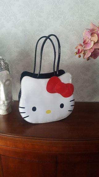 Bolso Hello Kitty original charol