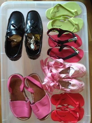 Zapatos niñ@ 1€