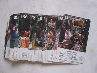 cartas sueltas de la baraja de cartas NBA Fournier